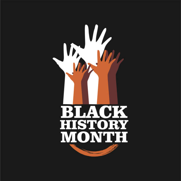 Black History Month Vector Template Design