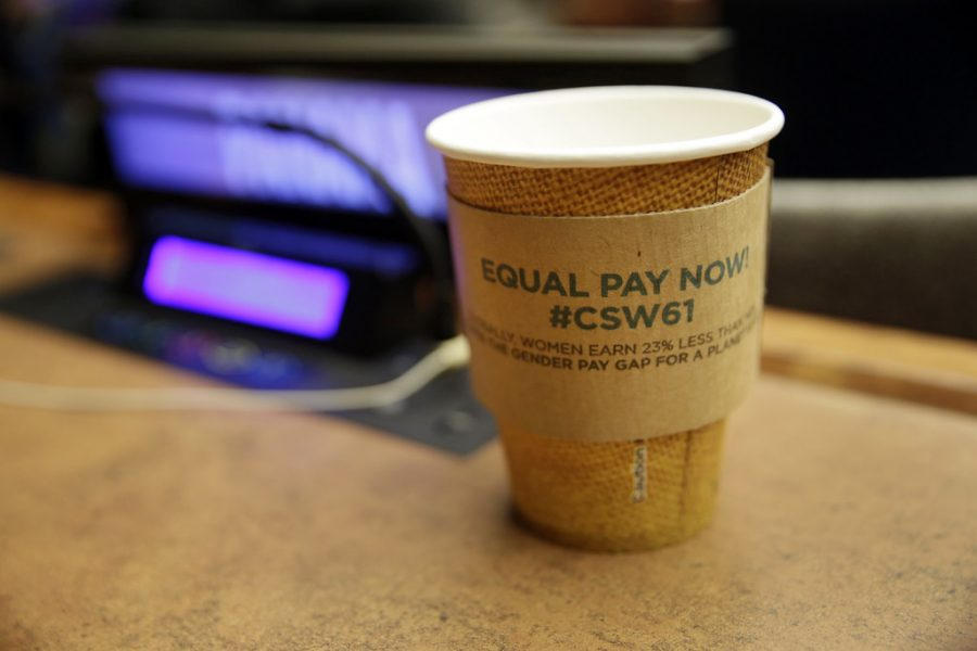 #CSW61 – Symbolic Work Stoppage to Mark Gender Pay Gap by UN Women Gallery is licensed under CC BY-NC-ND 2.0