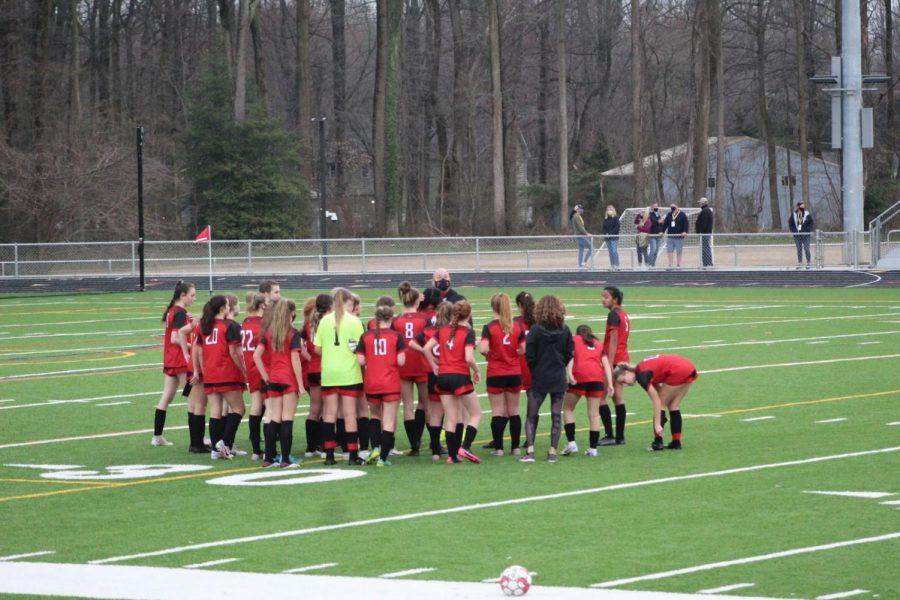 The CrHS Girls Soccer Team