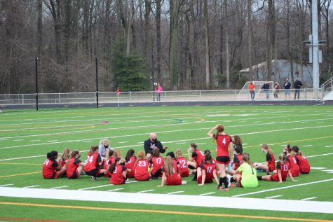 Girls Soccer defeats the South River Seahawks 2-0