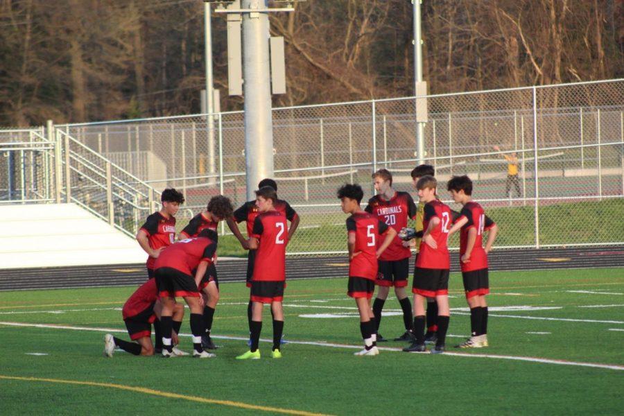 Crofton High's Boys JV Soccer defeats the South River Seahawks 1-0