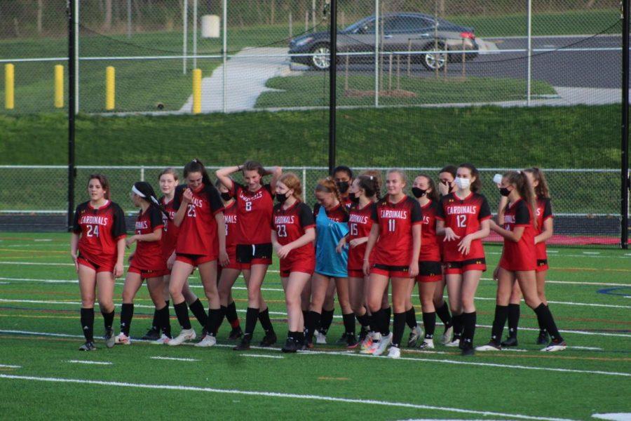 The girls soccer team.